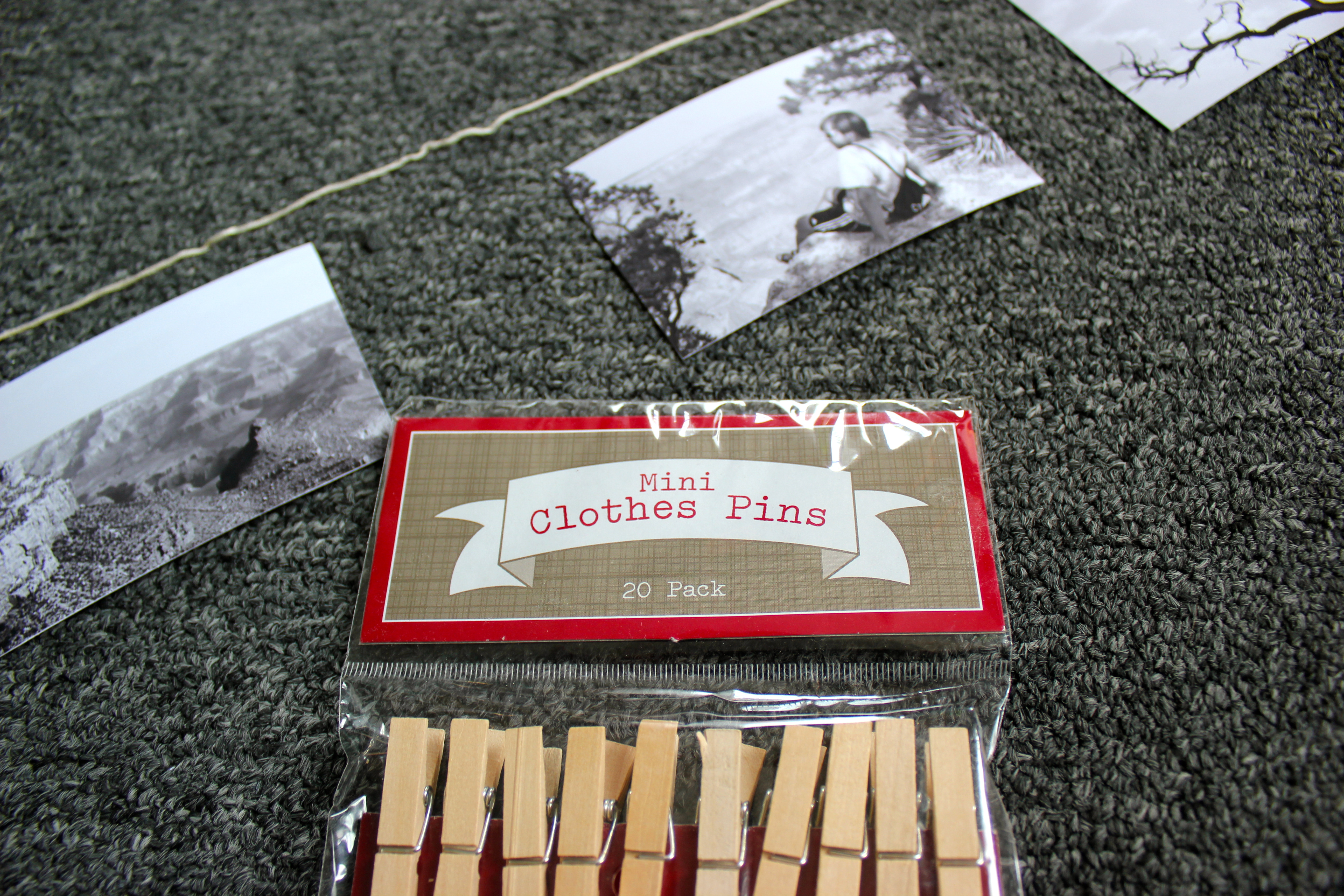Diy Mini Clothespin Picture Display Niftythriftygoodwill Circuit Board Table Decor Nifty Ideas Crafty Crafts Pin 4