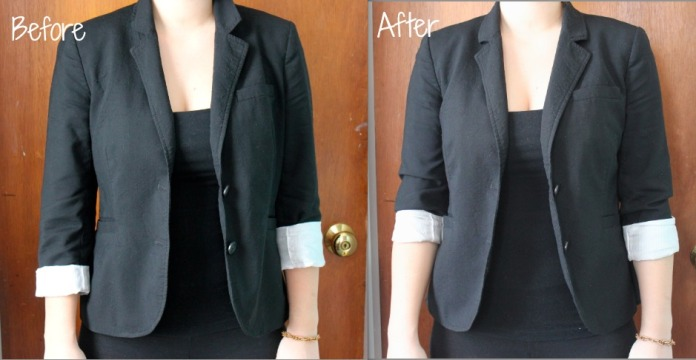 How to Alter a Thrift Store Blazer