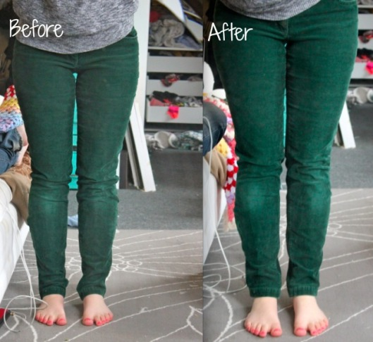 How To Shorten Pants Using the Original Hem